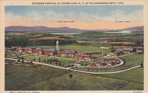 Veterans Hospital At Tupper Lake New York In The Adirondack Mountains New Yor...