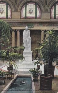 TUCK #2520; RICHMOND, Virginia, 1900-10s; Statue of Thomas Jefferson, Hotel