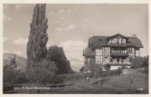 Hotel Maximillian Austria Vintage Real Photo Postcard