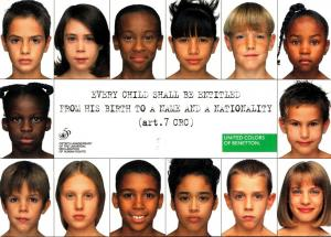 Children United Colors Of Benetton 50th Anniversary Of Human Right 1998