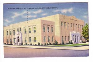 Municipal Building and Library, Seminole, Oklahoma