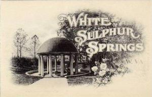 West Virginia White Sulphur Spring The Spring Albertype
