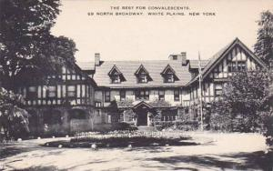 New York White Plains The Rest For Convalescents 69 North Broadway  Artvue