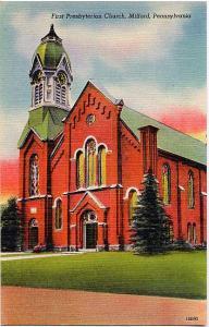 First Presbyterian Church - Milford, PA Pennsylvania - Linen