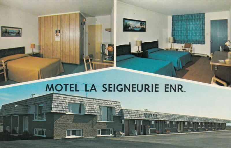 SAINT-JEAN-PORT-JOLI, Quebec, Canada, 50-60s; Motel La Seigneurie Enr.