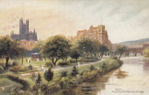 BATH , England , 1905 ; From North Parade Bridge ; TUCK 1478