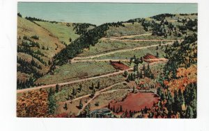 1955 postcard, Red River Pass, Red River, New Mexico