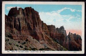 Wall of the Badlands,Cedar Pass,SD BIN