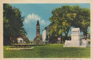BELLEVILLE , Ontario , 1930s ; Mn St from Monument to United Empire Loyalists