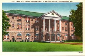 Virginia Harrisonburg Junior Hall Madison College