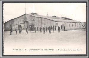 St Nazaire France WW I US Army Camp Auditorium No. 8