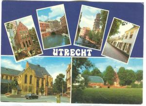 Netherlands, UTRECHT, 1978 used Postcard