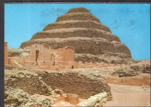 King Zoser's Step Pyramid,Sakkara,Egypt BIN