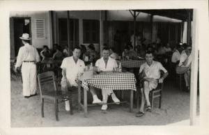 CPA Vietnam Indochine - Café de la Plage á Bien-Hoa le 12 Avril 1953 (94892)