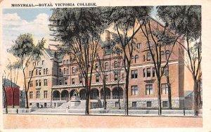 Royal Victoria College Montreal 1938