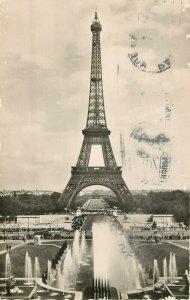 Postcard The Eiffel Tower, Paris France