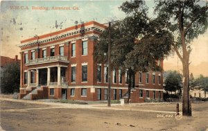F47/ Americus Georgia Postcard 1910 Y.M.C.A. Building