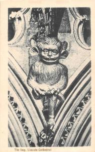 Lincoln Cathedral, The Imp. grotesque