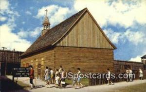 Church of Ste Anne de Michilimackinac Mackinaw City MI Unused