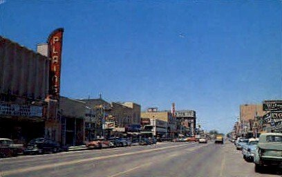 Main Street in Roswell, New Mexico