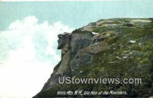 Old Man of the Mountains Franconia Notch NH Postal used unknown