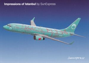 SUNEXPRESS Jet Airplane , Istabul paint job , 70-90s