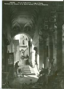 VILLA CARLOTTA, Lago di Como, Farmacia del Chiostro di S. Maria Novella