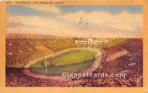 Coliseum Los Angeles, California, CA, USA 1949