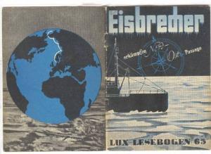 Booklet Eisbredner, erkampfen Nord Ost Passage (Arctic) ,  32 pages