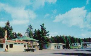 Ryden's Cottages International Boundary Between Canada & United States Highwa...