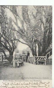 South Africa Postcard - Rustic Bridge, Alexandersfontein - Nr Kimberley - 16662A