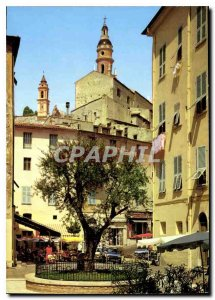 Modern Postcard Reflections of the French Riviera Menton Ms. Place Cape