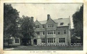 Read Hall Columbia MO 1920
