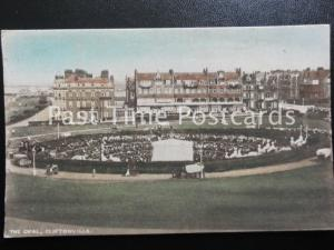 c1907 - The Oval, Cliftonville - large numbers of people attending a performance