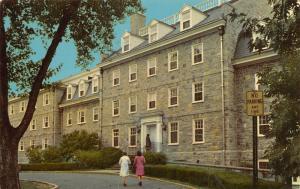 Carlisle Pennsylvania~Ladies Approach Drayer Hall @ Dickinson College 1966 PC