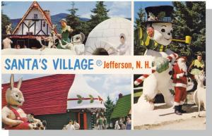 Jefferson, New Hampshire/NH Postcard, Santa's Village/Igloo