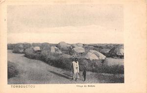 Mali Tombouctou, Village de Bellahs