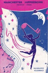 Cinderella 1950s TV Magician David Nixon Manchester Hippodrome Theatre Programme