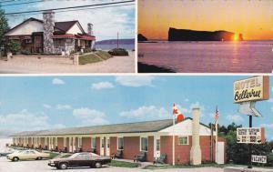 Motel Bellevue, Perce Rock, Classic Cars, PERCE, Quebec, Canada, 40-60's