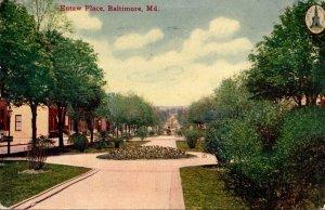 Maryland Baltimore Eutaw Place 1911