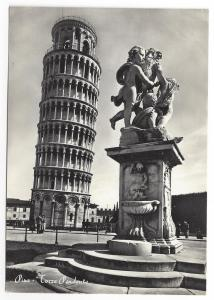 RPPC Pisa Torre Pendenta Leaning Tower Real Photo