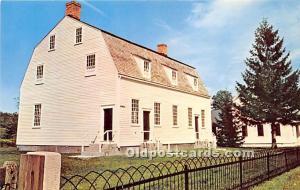 Shaker Meeting House built in Shirley, Massachusetts 1791 Hancock, MA, USA Un...