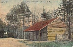LETCHWORTH PARK NEW YORK~MARY JENNISON'S HOUSE-ALBERTYPE TINTED PHOTO POSTCARD