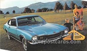 Troy, NY, USA Postcard Post Card 1972 Mercury Comet 2 Door Sedan