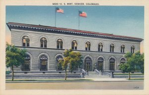 Denver CO, Colorado - United States Mint - Linen