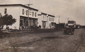 RP: SOMERSET , Saskatchewan , Canada , 1900-10s ; Main Street