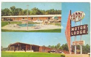 Capri Motor Lodge, Durham, North Carolina, 50-70