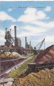 Colorado Pueblo C F and I Steel Mills