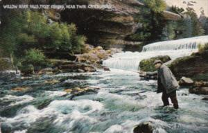 Minnesota Trout Fishing At Willow River Falls Near Twin Cities