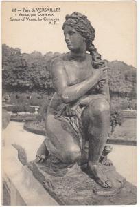 France, Parc de VERSAILLES, Venus par Coysevox, unused Postcard